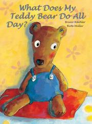 Cover art for WHAT DOES MY TEDDY BEAR DO ALL DAY?