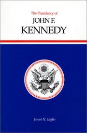 Book Cover for THE PRESIDENCY OF JOHN F. KENNEDY