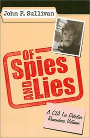 OF SPIES AND LIES by John F. Sullivan