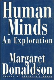 HUMAN MINDS by Margaret Donaldson