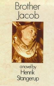BROTHER JACOB by Henrik Stangerup