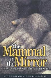 THE MAMMAL IN THE MIRROR by David P. Barash
