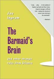 THE BARMAID'S BRAIN by Jay Ingram