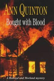 BOUGHT WITH BLOOD by Ann Quinton