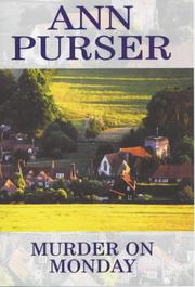 MURDER ON MONDAY by Ann Purser