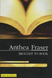 BROUGHT TO BOOK by Anthea Fraser