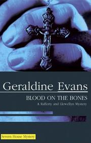 BLOOD ON THE BONES by Geraldine Evans