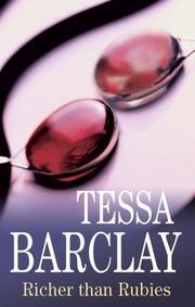 RICHER THAN RUBIES by Tessa Barclay