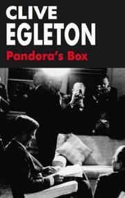 PANDORA'S BOX by Clive Egleton