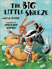 THE BIG LITTLE SNEEZE by Katja Reider