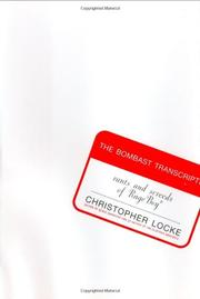 THE BOMBAST TRANSCRIPTS by Christopher Locke