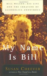 MY NAME IS BILL by Susan Cheever