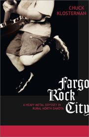 Cover art for FARGO ROCK CITY