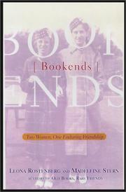 BOOKENDS by Leona Rostenberg
