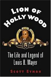 Book Cover for LION OF HOLLYWOOD