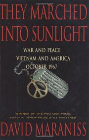 Cover art for THEY MARCHED INTO SUNLIGHT
