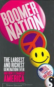 BOOMER NATION by Steven M. Gillon