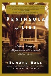 Cover art for PENINSULA OF LIES