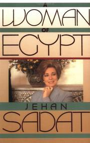 A WOMAN OF EGYPT by Jehan Sadat