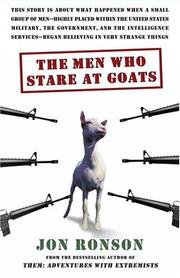 Book Cover for THE MEN WHO STARE AT GOATS