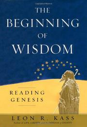 Book Cover for THE BEGINNING OF WISDOM