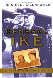GENERAL IKE by John S.D. Eisenhower