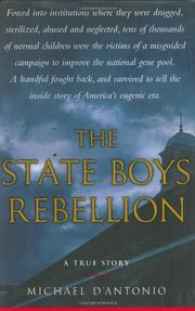 Book Cover for THE STATE BOYS REBELLION