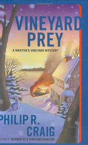 Cover art for VINEYARD PREY