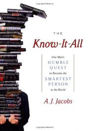 Cover art for THE KNOW-IT-ALL