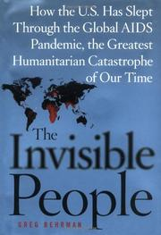 THE INVISIBLE PEOPLE by Greg Behrman