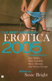 THE BEST AMERICAN EROTICA 2005 by Susie Bright
