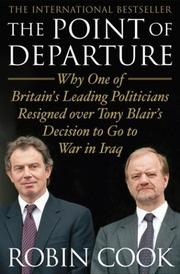 THE POINT OF DEPARTURE by Robin Cook