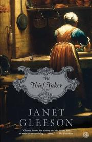 THE THIEF TAKER by Janet Gleeson