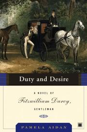 Book Cover for DUTY AND DESIRE