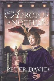 SIR APROPOS OF NOTHING by Peter David