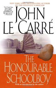 Book Cover for THE HONOURABLE SCHOOLBOY