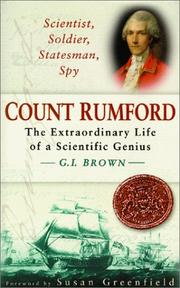 SCIENTIST, SOLDIER, STATESMAN, SPY by G.I. Brown