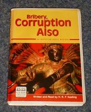 """BRIBERY, CORRUPTION ALSO"" by H.R.F. Keating"