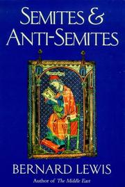 Cover art for SEMITES & ANTI-SEMITES