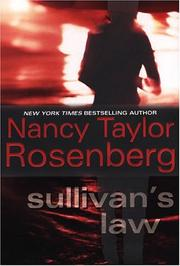 SULLIVAN'S LAW by Nancy Taylor Rosenberg
