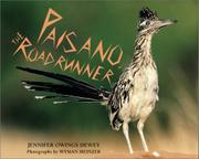 PAISANO, THE ROADRUNNER by Jennifer Owings Dewey