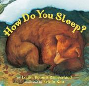 HOW DO YOU SLEEP? by Louise Bonnett-Rampersaud