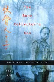 Cover art for THE BONE COLLECTOR'S SON