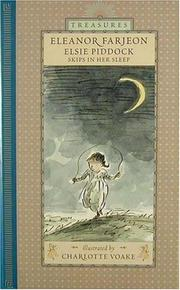 Cover art for ELSIE PIDDOCK SKIPS IN HER SLEEP