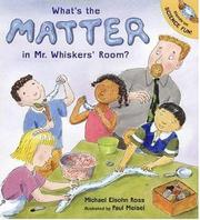 Cover art for WHAT'S THE MATTER IN MR. WHISKERS' ROOM?