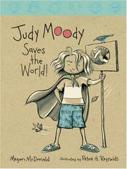 Book Cover for JUDY MOODY SAVES THE WORLD!