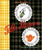 TABLE MANNERS by Chris Raschka