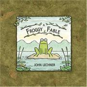 Cover art for A FROGGY FABLE