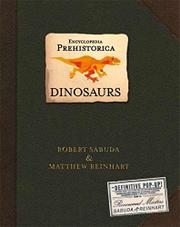 ENCYCLOPEDIA PREHISTORICA by Robert Sabuda