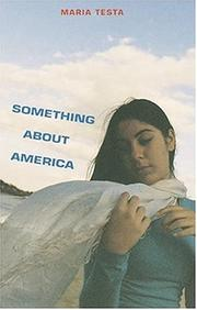 Cover art for SOMETHING ABOUT AMERICA